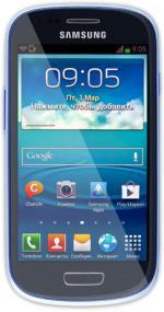 Мобильные телефоны Samsung I8190 Galaxy S III mini (синий)