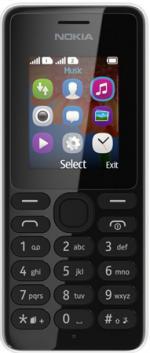 Телефон Nokia 108 Dual sim, черный
