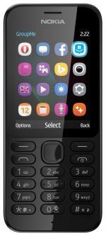 Nokia Сотовый телефон 222 Dual Sim White